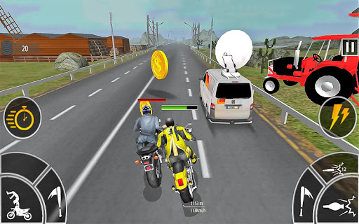 Moto Bike Attack Race 3d games 1.4.2 screenshots 8