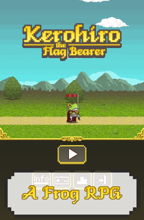 Kerohiro the Flag Bearer- screenshot