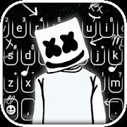 Cool Dj Doodle Keyboard Theme