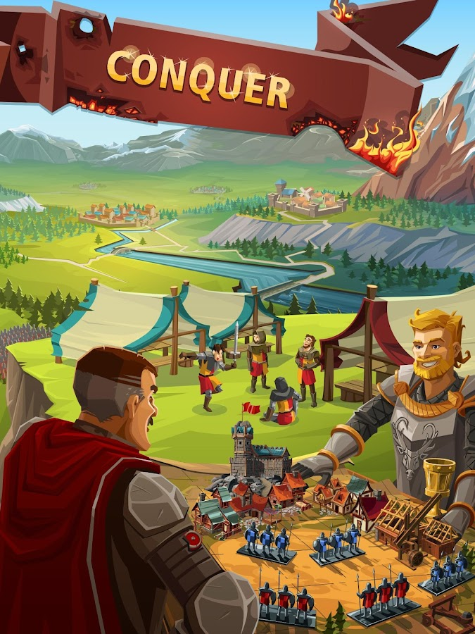 Screenshots of Empire: Four Kingdoms for iPhone