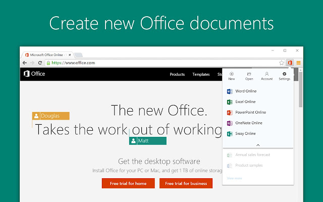 Office Online - Chrome Web Store