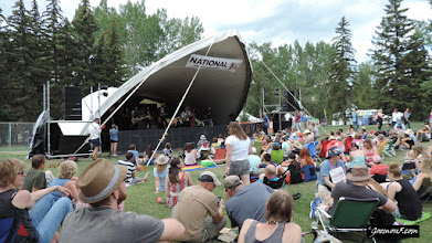 Photo: The actual highlight of the Calgary Folk Music Festival: the side stages.