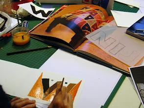 Photo: Du motif à la lettre