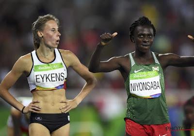 Renée Eykens loopt opnieuw sterke tijd, maar dat is net niet voldoende voor finale