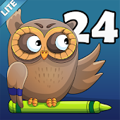 Coloring Book 24 Lite: ABCs