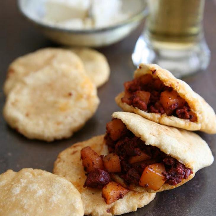 Potatoes with Mexican Chorizo
