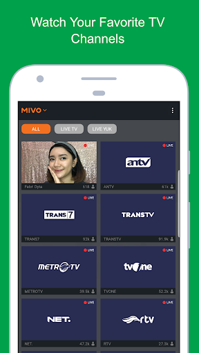 Mivo - Watch TV Online & Celebrity 3.24.7 screenshots 2