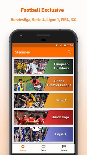 StarTimes - Live TV & Football 4.5 screenshots 2