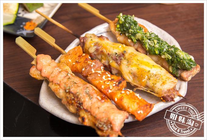 大麥町日式碳烤熱炒活海鮮串燒