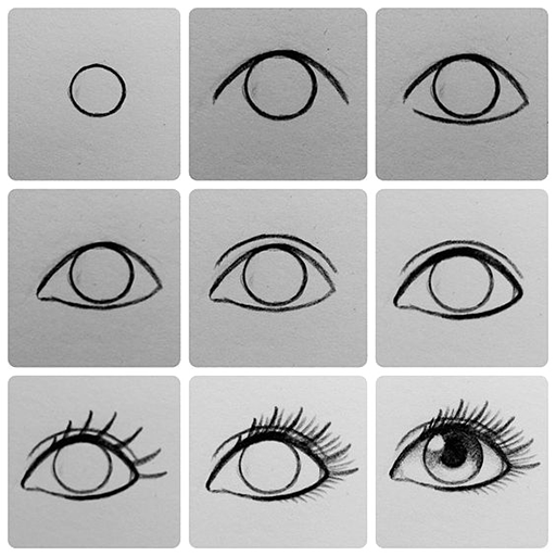 Daily Easy Drawing Step by Step Icon