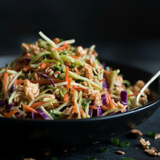 Asian Ramen Broccoli Slaw.
