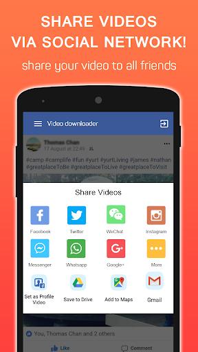 Video Downloader for Facebook 1.0.2 screenshots 4