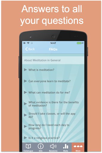 Zenfie, Mindfulness Meditation screenshot 4