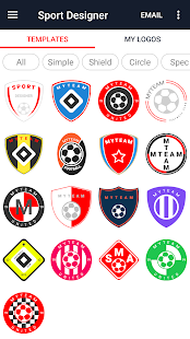 Download Sport Designer - Logo creator For PC Windows and Mac apk screenshot 2
