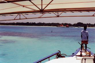 Photo: #013-Retour sur le Club Med de Faru après 6 jours de croisière dans les Maldives (océan indien)