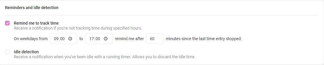 Трекер времени Toggl и планировщик задач