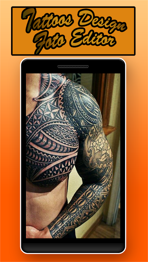 Tattoos design foto editor android apps on google play for Tattoo generator on body