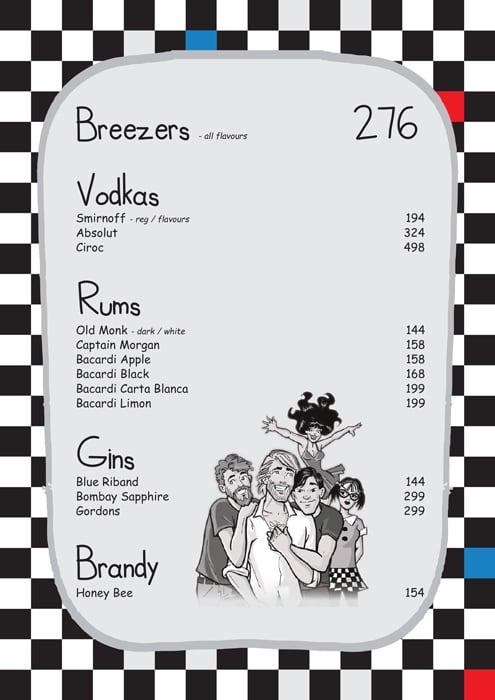 Pop Tate's menu 5