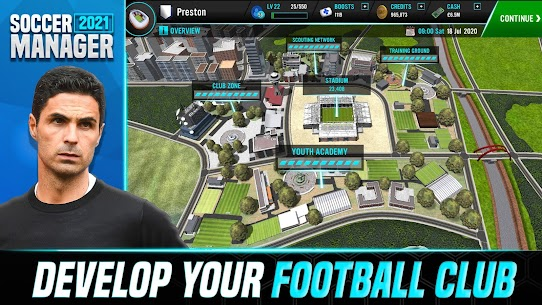 Soccer Manager 2021 – Football Management Mod Apk (Free Kits Receive) 1.1.3 3