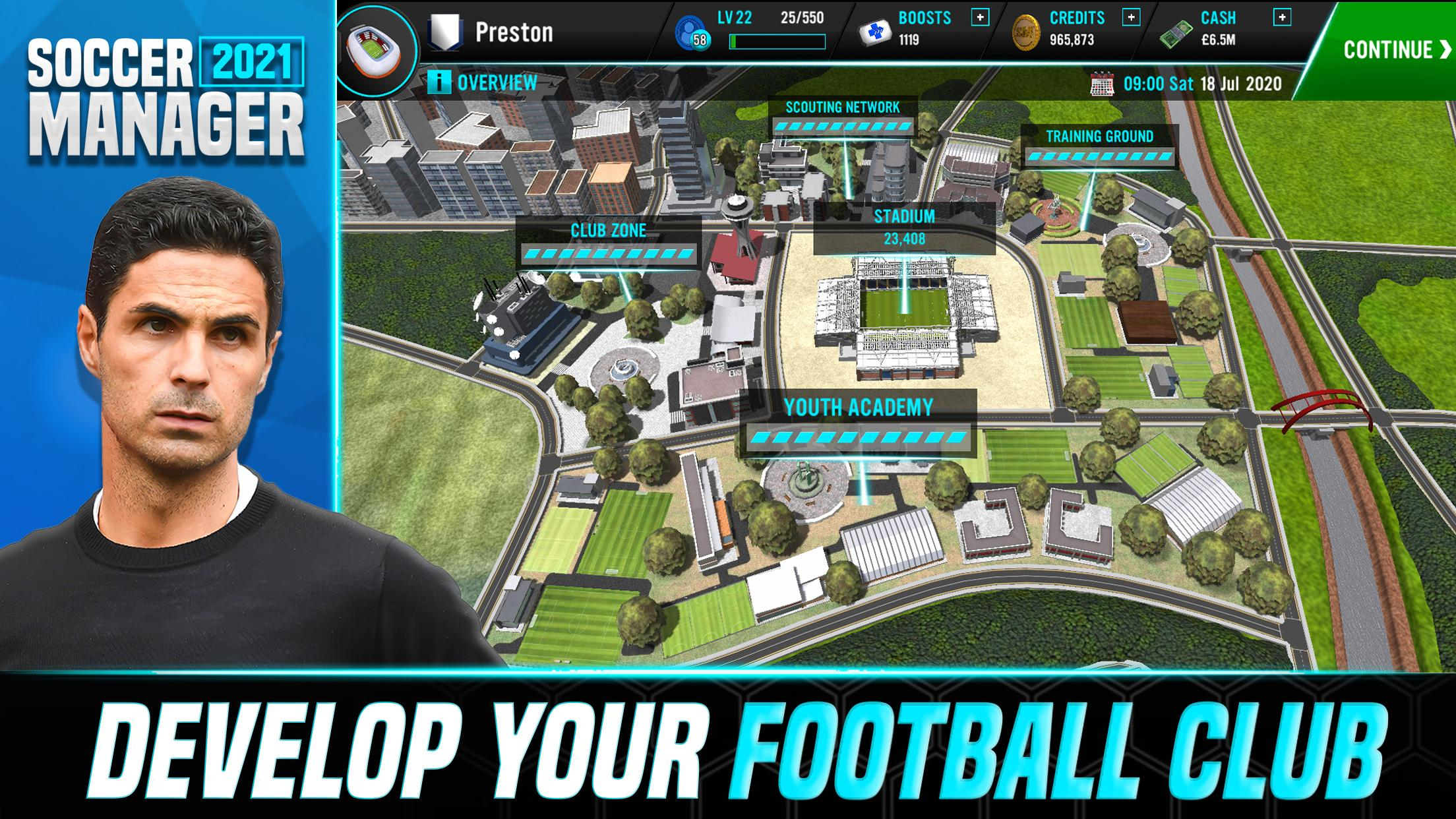 Soccer Manager 2021 - Football Management Game