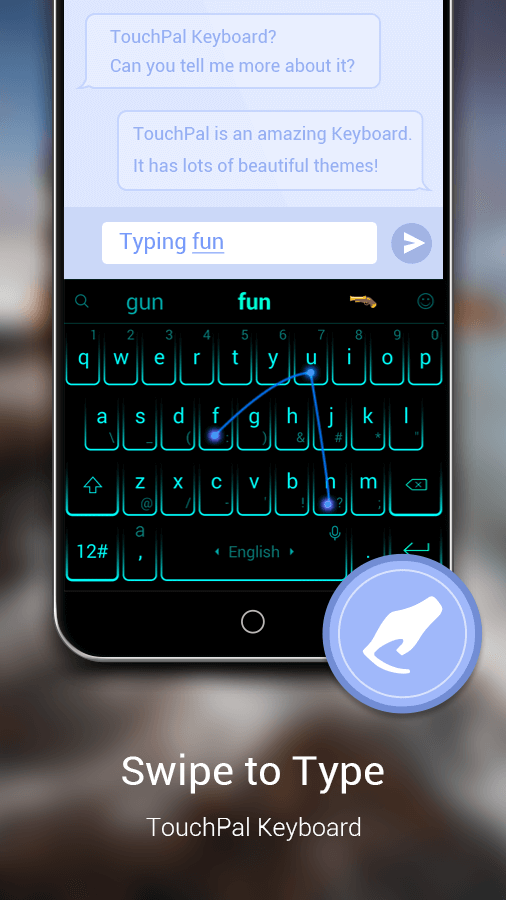 how to delete touchpal app