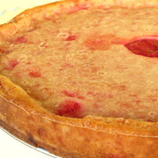 Yogurt Plum Pie.