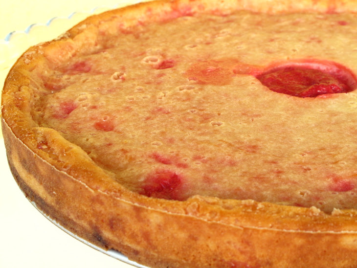 Yogurt Plum Pie