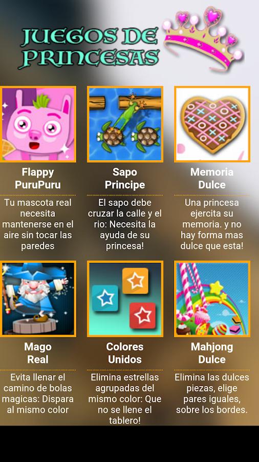 Juegos de Princesas  Android Apps on Google Play