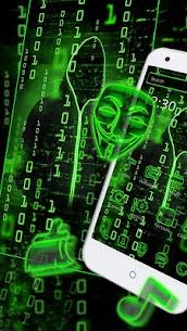 Neon Secret Hacker Launcher Theme Apk Download For Android 4