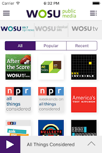 WOSU Public Media App screenshot 3
