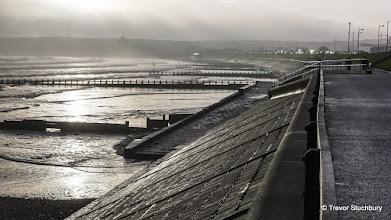 Photo: Aberdeen Beach on a Misty January Morning