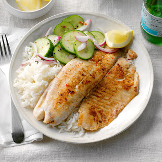 Tilapia with Jasmine Rice Recipe