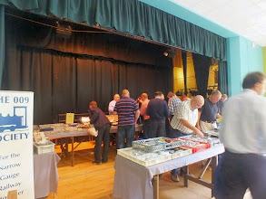 Photo: 002 009 Sales Sales (and volunteer sales staff!) was safely transported from Steventon the previous day and set up for the next group of eager bargain hunters !