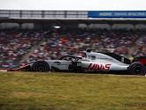 Het verband mocht al eens van de handen van Romain Grosjean