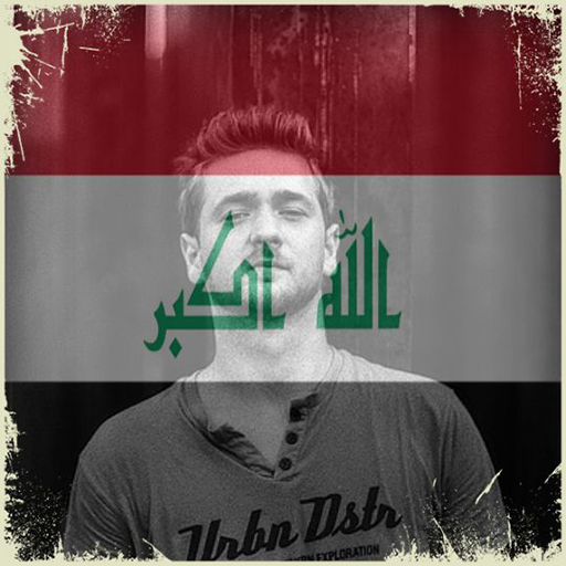 Iraq Flag On Face Maker : Photo Editor