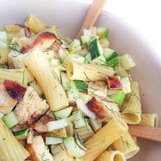 Honey Chipotle Grilled Chicken Pasta Salad.