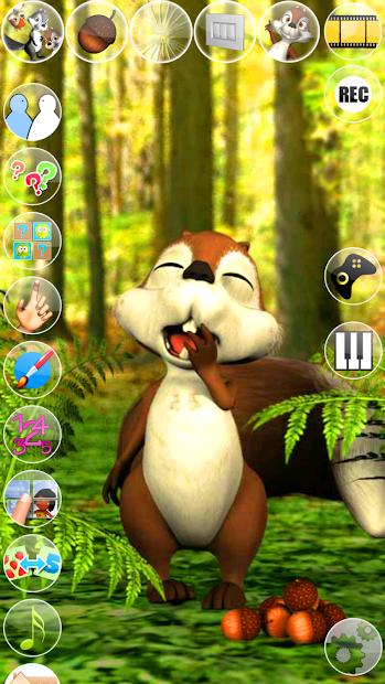 Talking James Squirrel screenshot 13