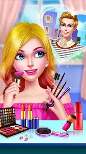 Download School Date Makeup - Girl Dress Up for PC