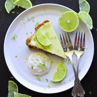 Vegan Coconut Key Lime Pie.