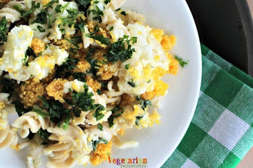 Lemon Cauliflower Pasta