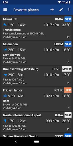 Avia Weather - METAR & TAF 2.11.6 Screenshots 7