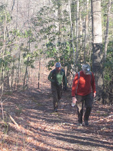 Photo: Bart and Tim ascend out of Baileysville