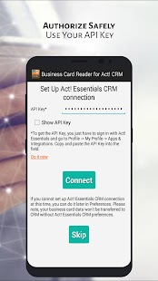 Business Card Reader for Act! CRM- screenshot thumbnail