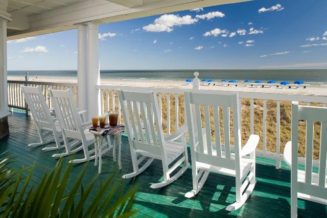 Photo: Oceanfront Deck