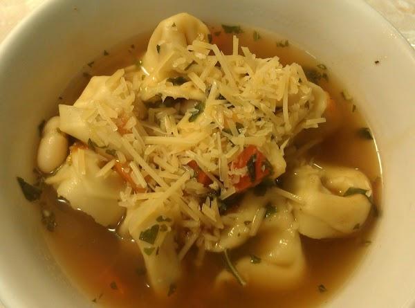 Basil Tortellini Soup Recipe
