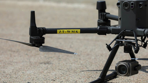 The Road Traffic Management Corporation will invest in drone technology. (Photo: DOT Twitter)