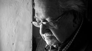 Retrato de Julio Alfredo Egea, fallecido este domingo a los 92 años..