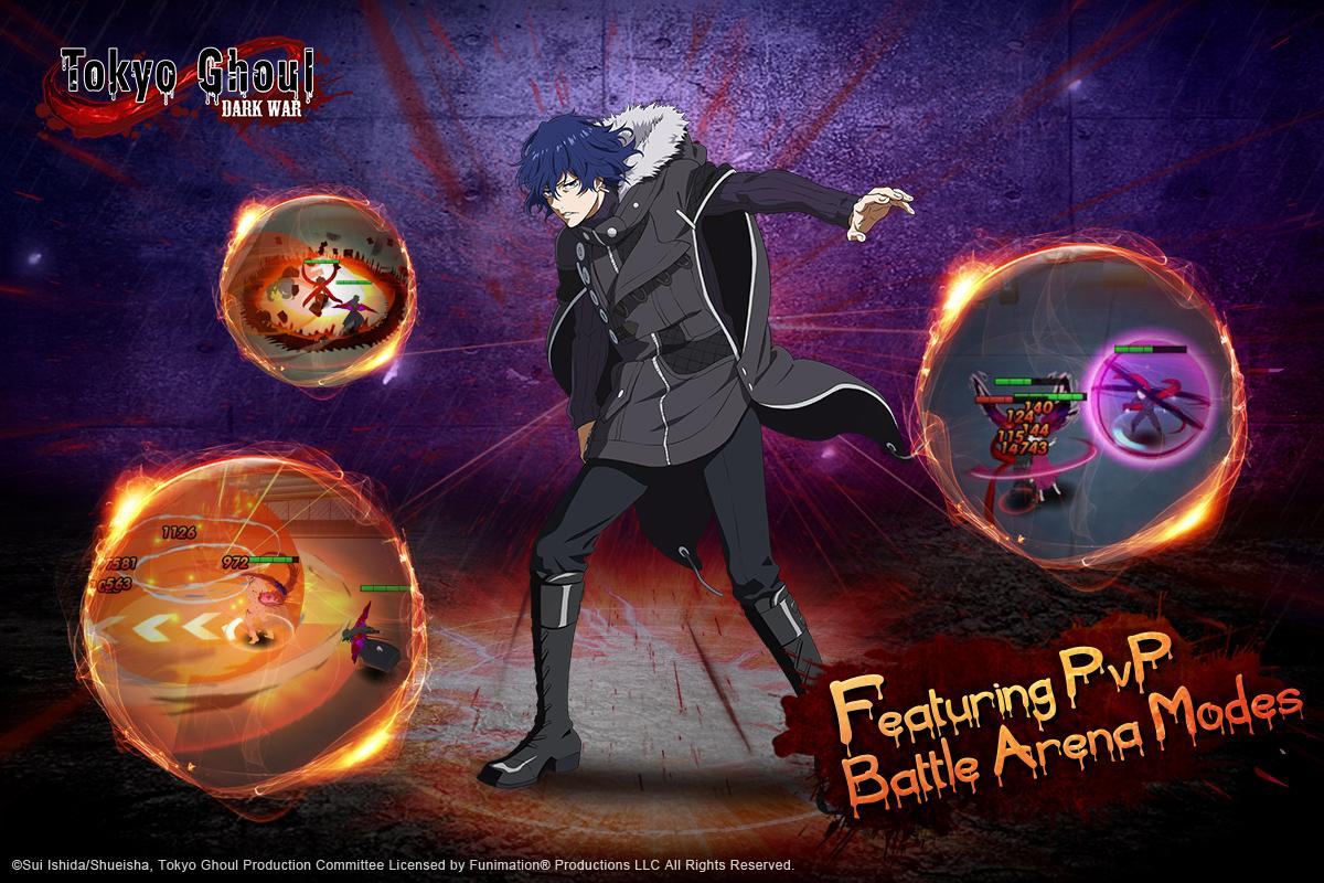 Tokyo Ghoul:Dark War – zrzut ekranu