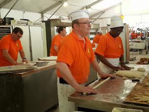 Photo: Baker's demo