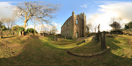 Photo: The Old Church in St Day, Cornwall, photographed from the north-western corner of the building. #photosphere